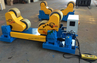 China GZ-40 Pipe Welding Rotator For Vessel Boiler Industry Fabrication 40T Rotary Capacity supplier