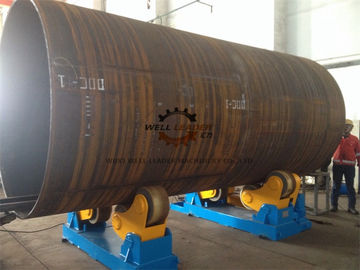 China Pipe Self Aligned Welding Rotator , Pipe Welding Rotator For Automatic  Blasting supplier
