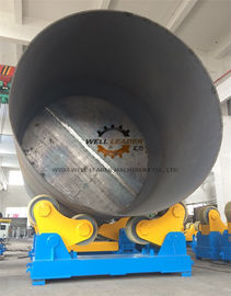 China Self Adjustment Pipe Welding Rotator With  PU Wheels 80 Ton Loading Capaicty supplier
