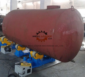 China Variable Speed Self Aligned Pipe Welding Rotator 10 Ton Rotary Capacity supplier