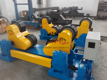 China Black PU Wheel Automatic Pipe Welding Rotator 60T Rotary Capacity supplier