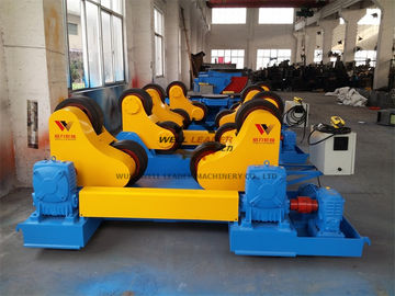China 40 Ton Standard Automatic Pipe Rotators For Welding 400mm Diameter Roller supplier