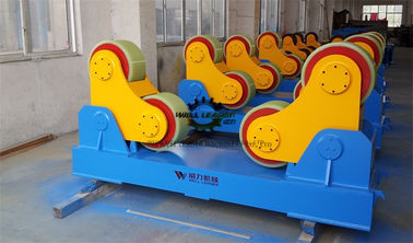 China PU Coated Welding Turning Rolls For Pipe / Tank / Wind Tower Production Line supplier