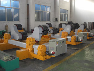 China Variable Speed Vessel Self Aligned Welding Rotator With Anti - Explosive Motor supplier