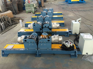 China PU Wheel Automatic Tank Turning Rolls With Control Cabinet 10 Ton supplier