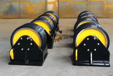 China Variable Speed Pipe Rotators For Welding , Turning Rolls Welding  Rotate Tanks supplier