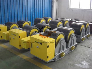 China Manual Adjustable PU Tank Turning Rolls 40T Loading Capaicty CE Standard supplier