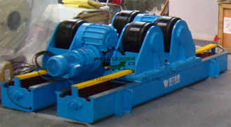 China Rubber Coated Tank Turning Rolls Support Tubes / Cylinders / Pipes Rotating supplier