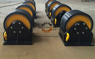 China Manual Fit Up Vessel Turning Rolls With Double Driver 40 Ton Loading Capaicty supplier