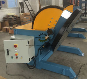 China Heavy Duty Pipeline Rotary Welding Positioner  With Rotate Motor And Tilt Motor supplier