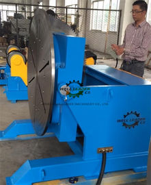 China 0-135 Dgr Tilting Rotary Welding Positioner Noiseless Operation For Pipe Industry supplier