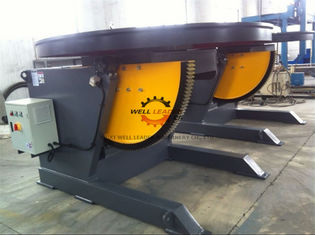1100W Horizontal Automatic Pipe Welding Positioners 3 Ton Rotation Capacity