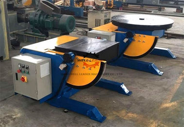 China High Precision Squre Pipe Welding Positioners Table With 550 Watt Motor Driving supplier