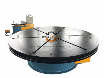 8 Ton Floor Small Welding Turntables  , Rotary Welding Table  For Welding / Polishing / Mounting