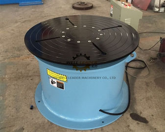 Adjustable Welding Positioner Turntable 360 Degree Unlimited Rotation For Storage Tanks