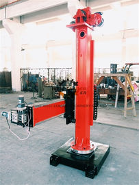 China Manual Pipes Column And Boom Welding Manipulators 360°Column Rotate supplier