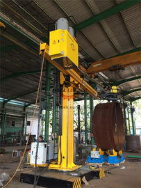 China Automatic Column And Boom Welding Manipulators With Self Align Rotator supplier