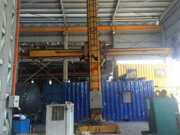 China Longitudinal Seam Column And Boom Welding Manipulators For Tank / Wind Tower supplier