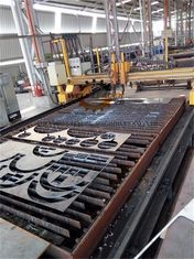 Industrial CNC Plasma Cutting Machine Double Driver With Internal Motion