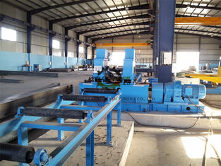 Industrial Automated  H Beam Welding Line With Hydraulic Pressure System