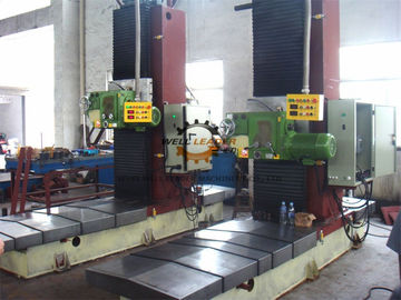 Fast Adjusting End Face Milling Machine 100-800mm / Min VFD Milling Speed