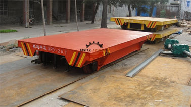 China 50T Electric Transfer Cart Cement Lined For Long Distance Transportation supplier