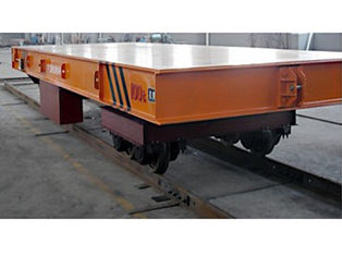 China Battery Powered Electric Transfer Cart Anti - rollover For Industrial supplier