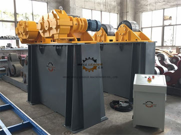 China Bolt Adjustment Conventional Tank Turning Rolls With Double Motor 120 Ton supplier