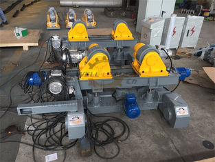 China VFD Speed Control Welding Turning Rolls Motorized Elevated & Move on Rails supplier