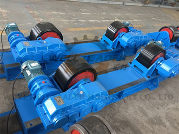 Rotary Capacity 40 Ton Tank Turning Rolls / Conventional Welding Rotator