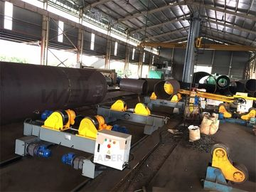 Hydraulic Welding Turning Rolls Wind Tower Production Line 20 Ton 3m Diameter