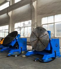 China 2000kg Rotary Welding Table Positioner with Rotating / Tilting Motor and Gear supplier