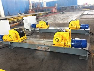 Self Centering Conventional Welding Rotator Pipe Turning Rollers 5000kgs Load