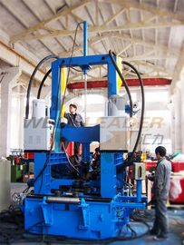 H Beam Welding Line Integrated Assembly Welding Straightening Machine