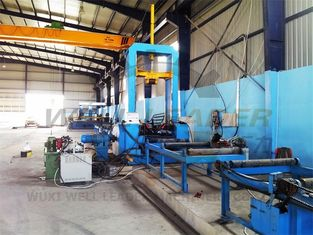 Automatic H Beam Production Line Cutting Assembly Welding Straightening