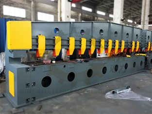 China Steel Plate Edge Milling Machine 0.75kw Chamfering 12m - 50mm Thickness supplier