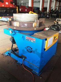 2000 Kg Carring Rotary Welding Positioner 1100mm Table Slotted 300mm Gravity