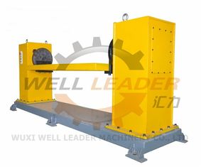 Single Axis Servo Positioner Rotating Overturning Table For Robot Welding 800Kg Load