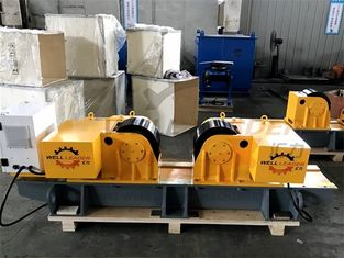 China Conventional Tank Welding Turning Rolls PU 2.2Kw Schneider Driver supplier