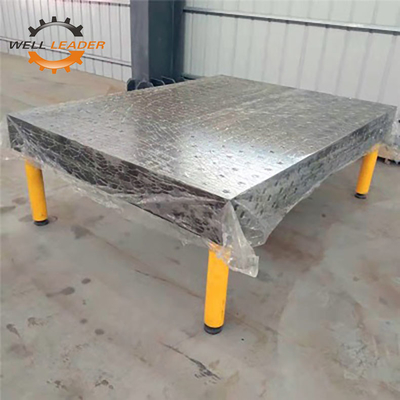 ISO Passed Pro Certiflat Welding Table / Metal Welding Bench For 50mm Hole