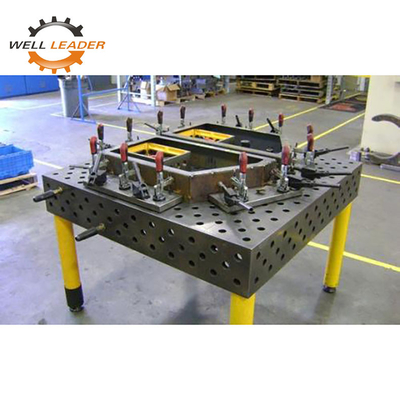 Custom Made Certiflat Welding Table 50x50mm Hole Spacing Flexible