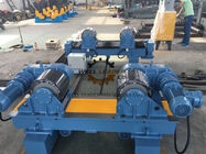 China 40 Ton Motorized Movable Tank Turning Rolls Rotate Pipe Tank Vessel Boiler company