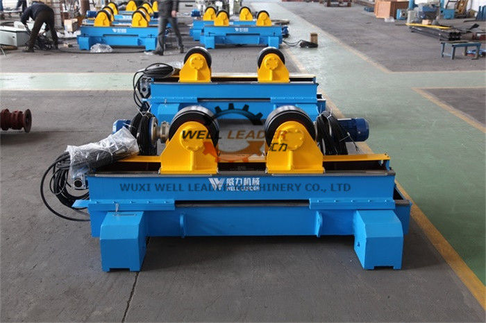 10T Hydraulic Welding Turning Rolls For Pipe Vessel Boiler Fabrication