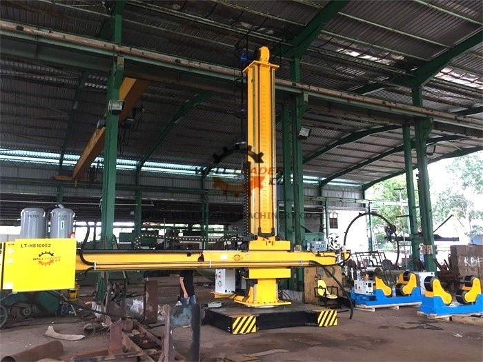 Heavy Duty Column And Boom Manipulator For Auto Pipe Inner