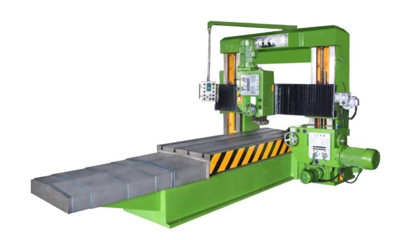 Gantry CNC Metal Milling Machine High Precision 7.5Kw With 4m X 1m Table