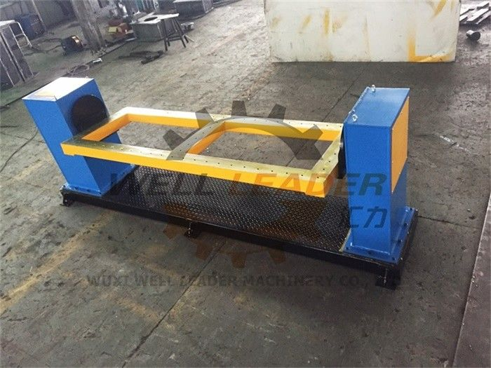 Single Axis Rotary Welding Positioner Servo Motor Welding Robot Positioner 360mm Table supplier