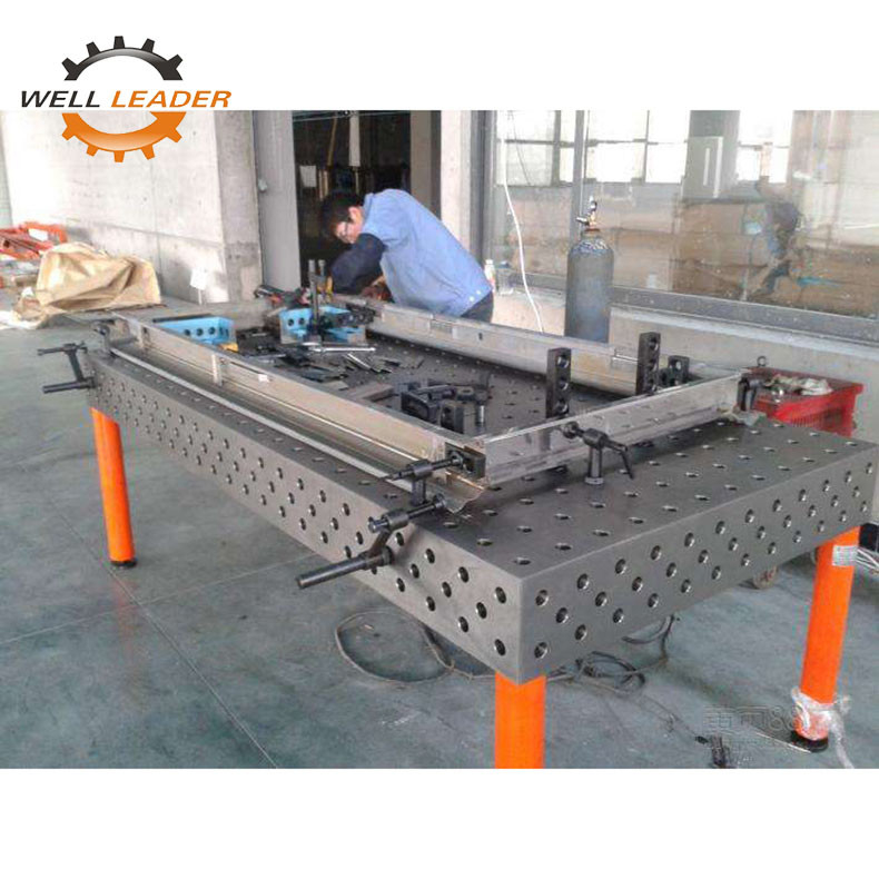 5 Working Surface Certiflat Welding Table Plate For Welding Assemble supplier