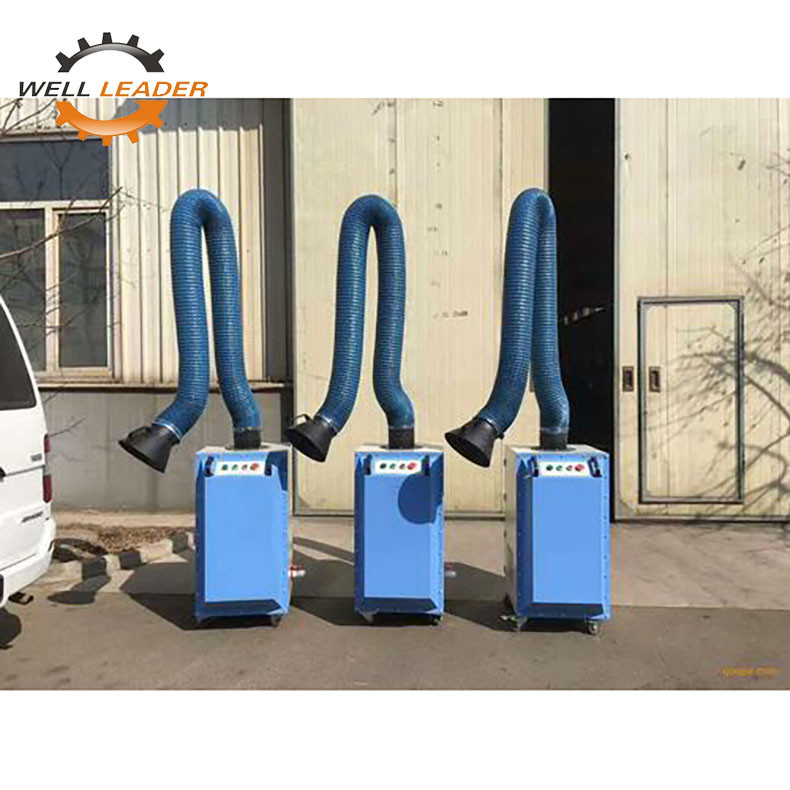 Mobile Welding Fume Extractor Single Arm High Power With CE Certified