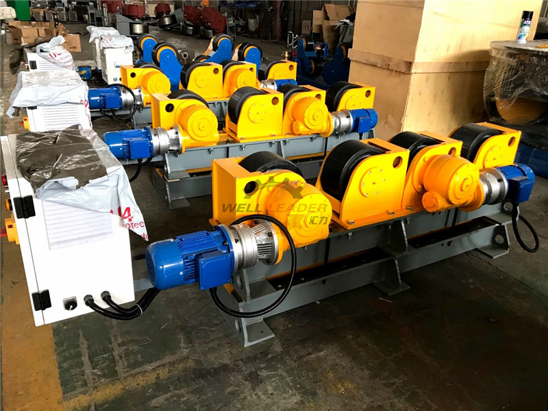 Electric Tilting Rotational Small 12 Ton Pipe Welding Rotator