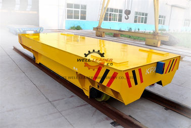30T Heavy Load  Electric Transfer Cart Anti Crush 3000*1500mm CE Approved